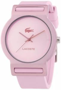[ラコステ]Lacoste 腕時計 Tokyo Pink Silicone Analog Quartz Watch 2020076 レディース [並行輸入品]