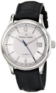[モーリス ラクロア]Maurice Lacroix Miros Analog Display Analog Quartz Black MI1057-SS001-150