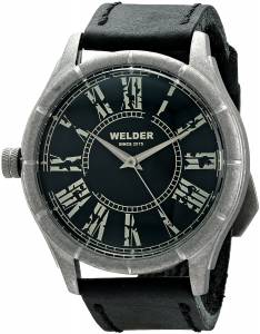 [ウェルダー]Welder 腕時計 Analog Display Quartz Black Watch 505 ユニセックス [並行輸入品]
