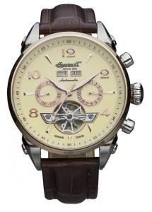 [インガソール]Ingersoll San Bernardino Automatic Stainless Steel Watch with Brown IN4514RCR