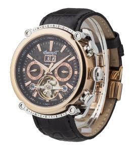 [インガソール]Ingersoll 腕時計 Las Vegas Stainless Steel Watch with Black Leather Band IN6909RBK メンズ [並行輸入品]