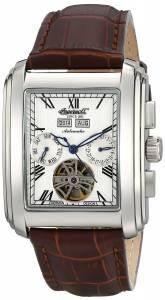 [インガソール]Ingersoll Georgia II Stainless Steel Automatic Watch with Brown Leather IN8209WH