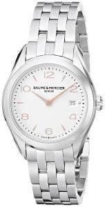 [ボーム&メルシエ]Baume & Mercier 腕時計 Clifton Analog Display Quartz Silver Watch BMMOA10175 レディース [並行輸入品]