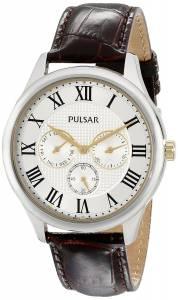 [パルサー]Pulsar 腕時計 Analog Display Japanese Quartz Brown Watch PP6175 メンズ [並行輸入品]