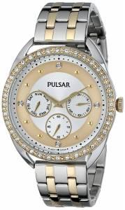[パルサー]Pulsar 腕時計 Analog Display Japanese Quartz Two Tone Watch PP6180 レディース [並行輸入品]