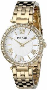 [パルサー]Pulsar 腕時計 GoldTone Stainless Steel Watch PM2126 レディース [並行輸入品]