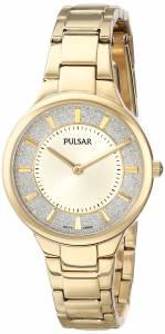 [パルサー]Pulsar 腕時計 GoldTone Watch with Link Bracelet PM2132 レディース [並行輸入品]