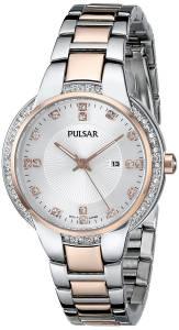 [パルサー]Pulsar 腕時計 Analog Display Japanese Quartz Two Tone Watch PJ2012 レディース [並行輸入品]