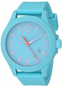 [イーエスキューモバード]ESQ Movado 腕時計 One Analog Display Swiss Quartz Blue Watch 07101432 ユニセックス [並行輸入品]