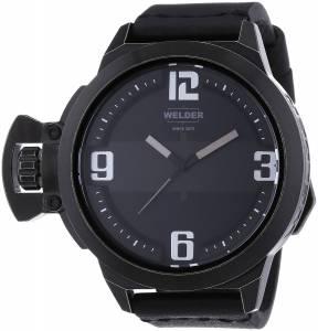 [ウェルダー]Welder 腕時計 Analog Display Quartz Black Watch 3605 ユニセックス [並行輸入品]