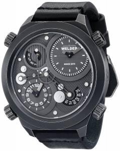 [ウェルダー]Welder 腕時計 Analog Display Quartz Black Watch 401 ユニセックス [並行輸入品]