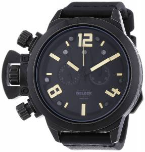 [ウェルダー]Welder 腕時計 Analog Display Quartz Black Watch 3611 ユニセックス [並行輸入品]