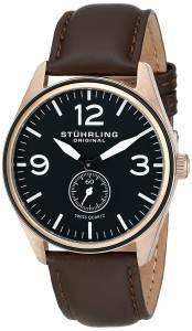 [ステューリングオリジナル]Stuhrling Original Aviator Swiss Quartz Seconds Subdial 931.03