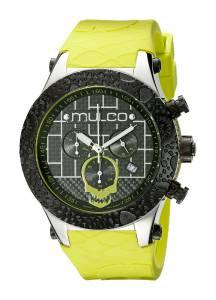 [マルコ]MULCO 腕時計 Couture Analog Display Swiss Quartz Yellow/Green Watch MW5-2331-465 メンズ [並行輸入品]