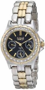 [バージ]Burgi 腕時計 Analog Display Quartz Two Tone Watch BUR117TTG レディース [並行輸入品]