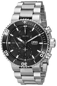 [オリス]Oris 腕時計 Aquis Analog Display Swiss Automatic Silver Watch 77476554154MB メンズ [並行輸入品]