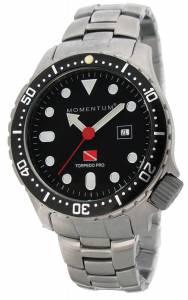 [モーメンタム]Momentum 腕時計 Torpedo Pro Analog Display Japanese Quartz Silver Watch 1M-DV44B0 メンズ [並行輸入品]