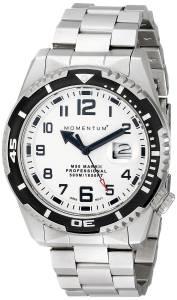 [モーメンタム]Momentum 腕時計 M50 Mark II Analog Display Japanese Quartz Silver Watch 1M-DV52L0 メンズ [並行輸入品]