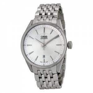 [オリス]Oris 腕時計 Artix Date Automatic Silver Dial Stainless Steel Watch 733-7642-4031MB メンズ [並行輸入品]