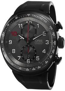 [オリス]Oris  Darryl O Young Limited Edition Grey Dial Black Rubber Watch 01 774 7611 7784 Set