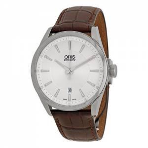 [オリス]Oris  Artix Automatic Silver Dial Brown Leather Watch 73376424031LS 733-7642-4031LS
