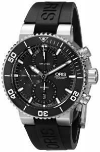 [オリス]Oris 腕時計 Aquis Analog Display Swiss Automatic Black Watch 77476554154RS メンズ [並行輸入品]