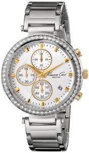 [ケネスコール]Kenneth Cole New York 腕時計 Stainless Steel Chronograph Watch 10019755 レディース [並行輸入品]