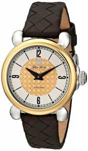 [グラムロック]Glam Rock 腕時計 Vintage Glam Stainless Steel Watch with GoldPlated Bezel GR28052 レディース [並行輸入品]