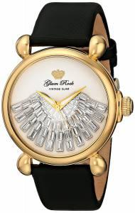 [グラムロック]Glam Rock 腕時計 Vintage Glam Analog Display Swiss Quartz Black Watch GR28037 レディース [並行輸入品]