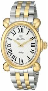 [グラムロック]Glam Rock Vintage Glam TwoTone Stainless Steel Watch with Analog Display GR28031