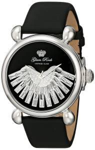 [グラムロック]Glam Rock 腕時計 Vintage Glam Analog Display Swiss Quartz Black Watch GR28036 レディース [並行輸入品]