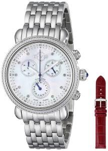 [ジェビル]GV2 by Gevril 腕時計 Marsala Stainless Steel Watch With Interchangable Bands 9801 レディース [並行輸入品]