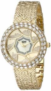 [バージ]Burgi 腕時計 Analog Display Quartz Gold Watch BUR118YG レディース [並行輸入品]