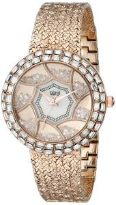 [バージ]Burgi 腕時計 Analog Display Quartz Rose Gold Watch BUR118RG レディース [並行輸入品]