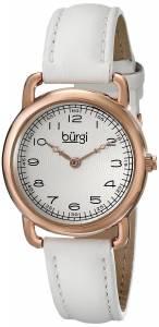 [バージ]Burgi 腕時計 Analog Display Quartz White Watch BUR121WTR レディース [並行輸入品]