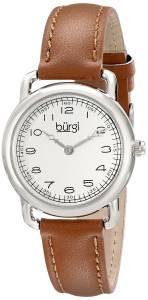 [バージ]Burgi 腕時計 Analog Display Quartz Brown Watch BUR121SSBR レディース [並行輸入品]