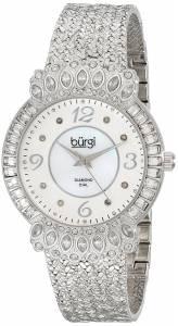 [バージ]Burgi 腕時計 Analog Display Quartz Silver Watch BUR120SS レディース [並行輸入品]