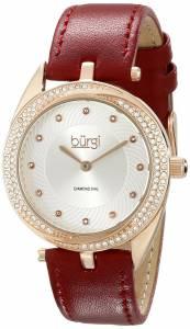 [バージ]Burgi 腕時計 Analog Display Japanese Quartz Red Watch BUR122BUR レディース [並行輸入品]