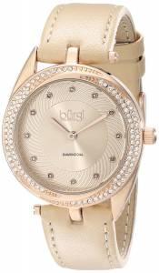 [バージ]Burgi 腕時計 Crystal and DiamondAccented GoldTone Watch BUR122RG レディース [並行輸入品]