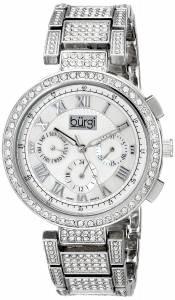 [バージ]Burgi 腕時計 Analog Display Swiss Quartz Silver Watch BUR123SS レディース [並行輸入品]