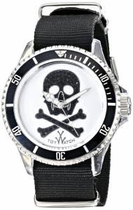 [トイウォッチ]Toy Watch 腕時計 Analog Display Quartz Black Watch S01WH メンズ [並行輸入品]