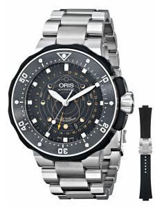 [オリス]Oris 腕時計 Moon Pointer Analog Display Swiss Automatic Silver Watch 76176827134SET メンズ [並行輸入品]