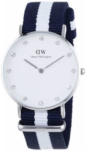 [ダニエル ウェリントン]Daniel Wellington 腕時計 Glasgow Silver 0963DW [並行輸入品]