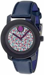 [モバード]Movado 腕時計 Bold Analog Display Swiss Quartz Purple Dial Watch 3600263 レディース [並行輸入品]