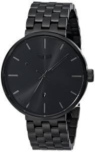 [ベスタル]Vestal 腕時計 Roosevelt Metal Analog Display Analog Quartz Black Watch ROS3M002 ユニセックス [並行輸入品]