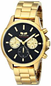 [ベスタル]Vestal 腕時計 Heirloom Chrono Analog Display Analog Quartz Gold Watch HEI3CM01 ユニセックス [並行輸入品]