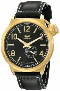 [ベスタル]Vestal 腕時計 Canteen Leather Analog Display Analog Quartz Black Watch CTN3L13 ユニセックス [並行輸入品]