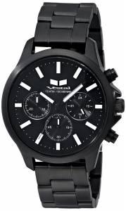[ベスタル]Vestal 腕時計 Heirloom Chrono Analog Display Analog Quartz Black Watch HEI3CM02 ユニセックス [並行輸入品]