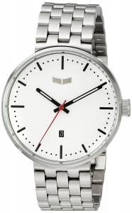 [ベスタル]Vestal 腕時計 Roosevelt Metal Analog Display Analog Quartz Silver Watch ROS3M003 ユニセックス [並行輸入品]