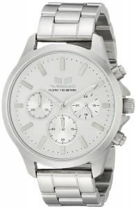[ベスタル]Vestal 腕時計 Heirloom Chrono Analog Display Analog Quartz Silver Watch HEI3CM03 ユニセックス [並行輸入品]